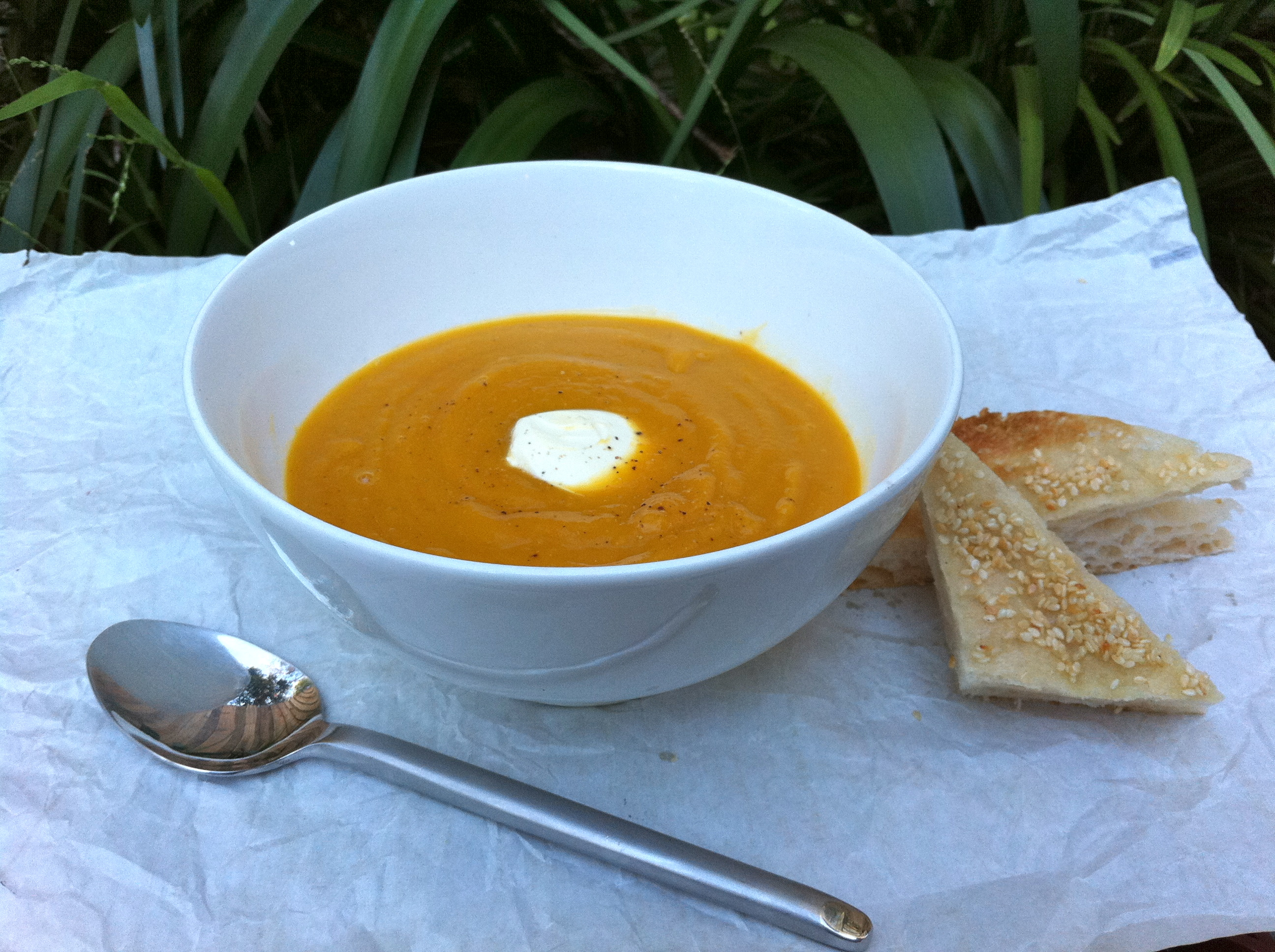 Spiced Squash, Fennel and Pear Soup | Kitchen Therapy