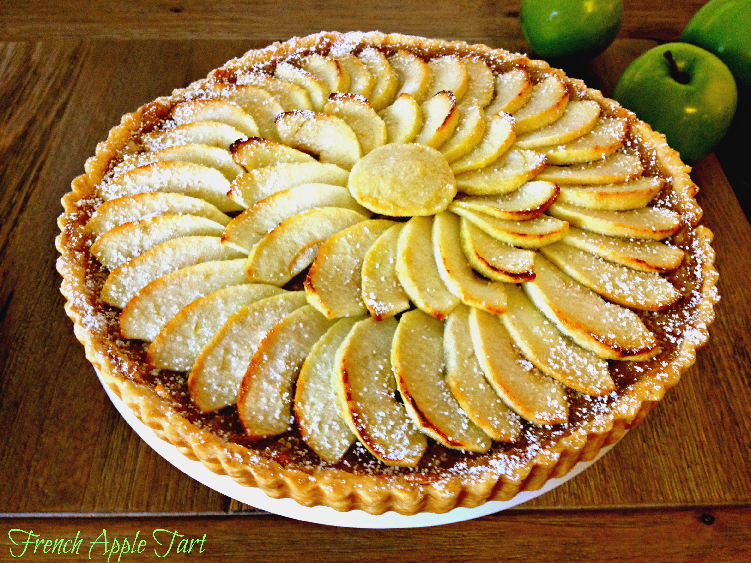 French Apple Tart | Kitchen Therapy