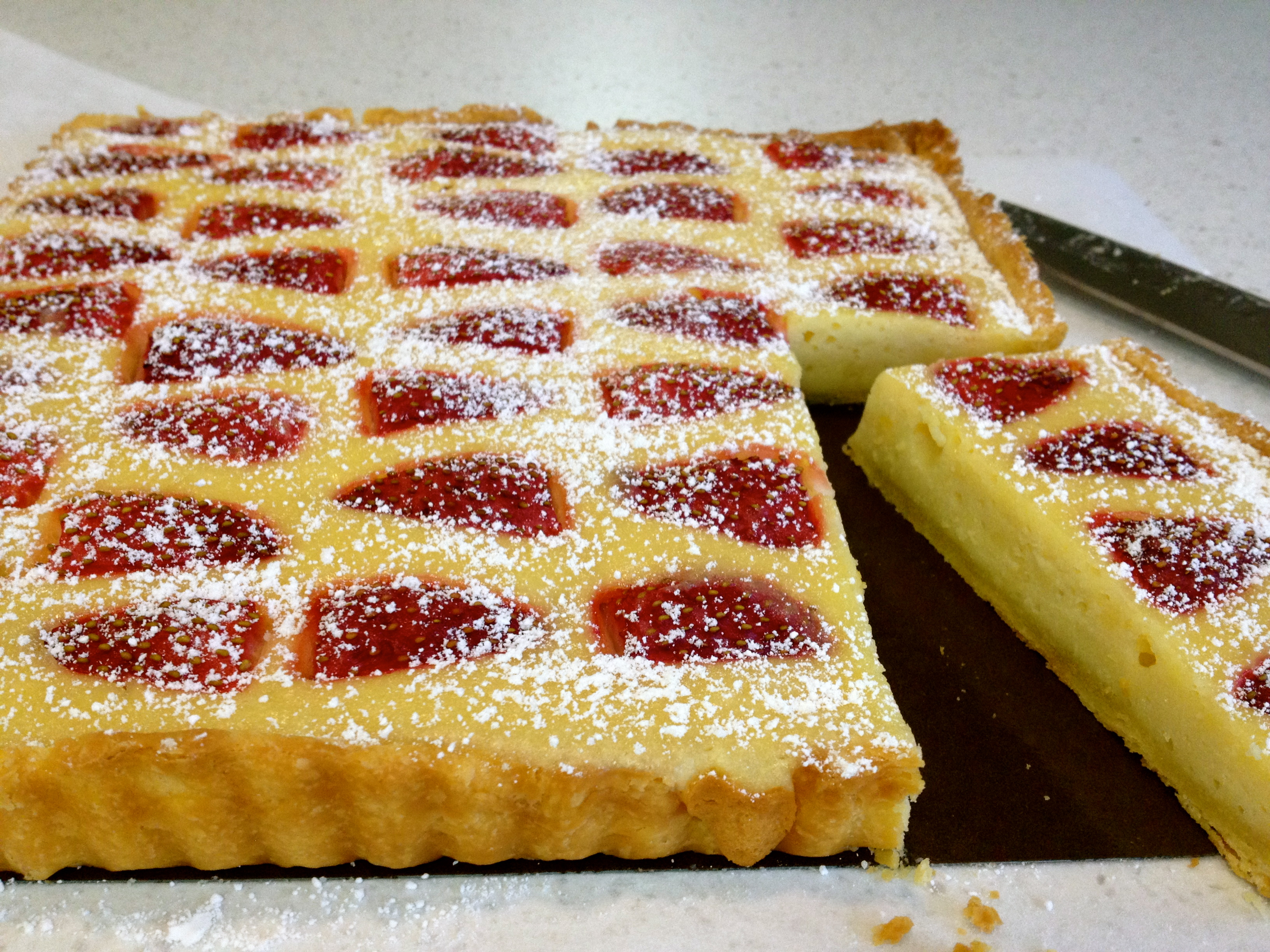 ... week's Tuesdays with Dorie: Baking with Julia baked yogurt tart