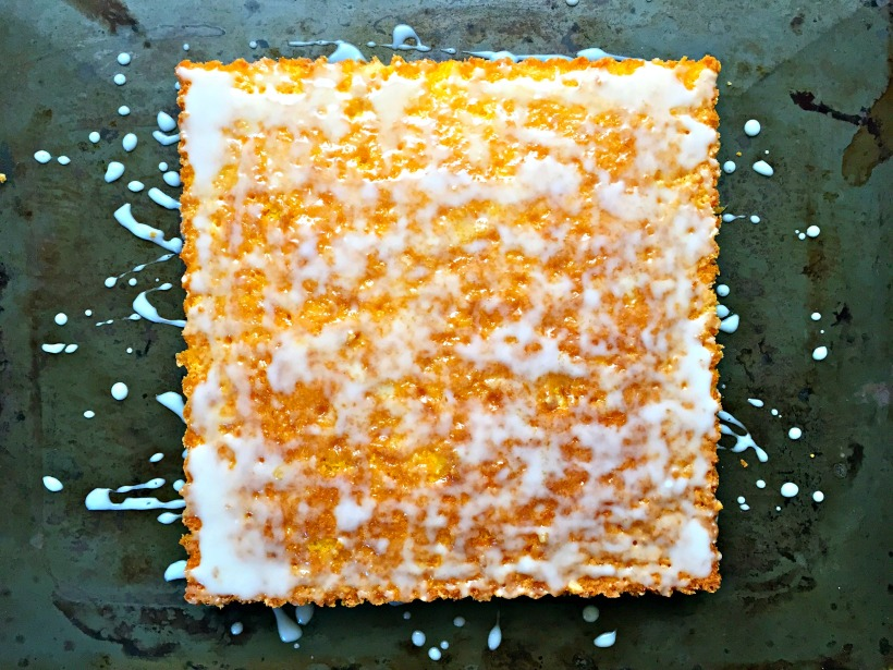 fluted carrot cake